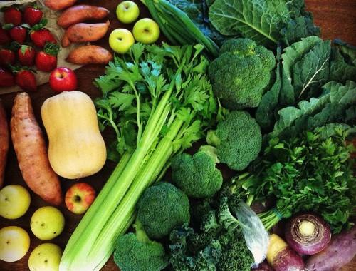 Organic Fruit and Vege