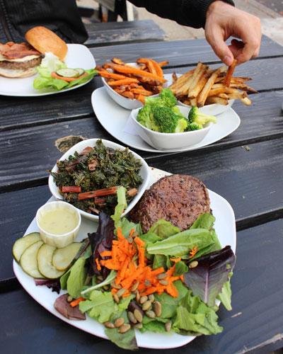 gluten free meal in Portland