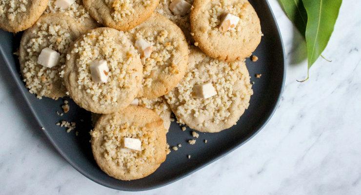 Gluten Free Aussie White Christmas Cookies