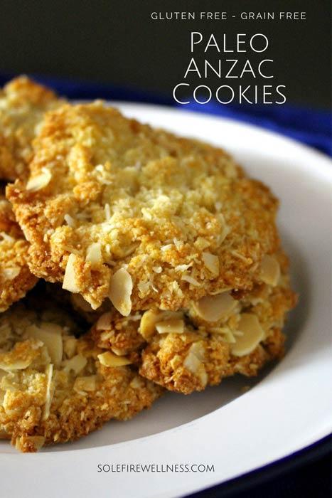 Pinterest Paleo Anzac Biscuits