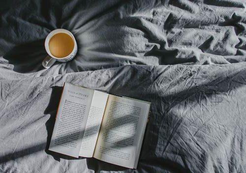 self-care-tea-in-bed